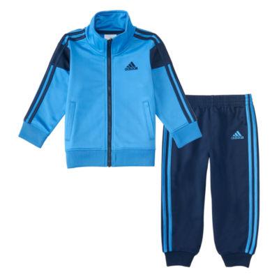 adidas 2-pc. Stripe Pant Set Baby Boys