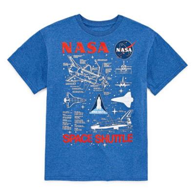 Nasa Graphic T-Shirt-Big Kid Boys