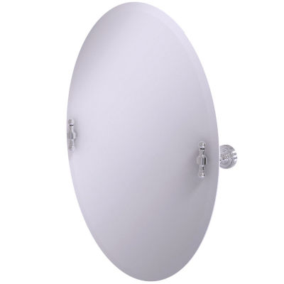 Allied Brass Frameless Oval Bathroom Mirror