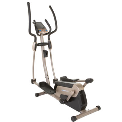 "EXERPEUTIC 5000 ""Mobile App Tracking"" Magnetic Elliptical with Double Transmission Drive, Bluetooth Technology and 18"" Stride"