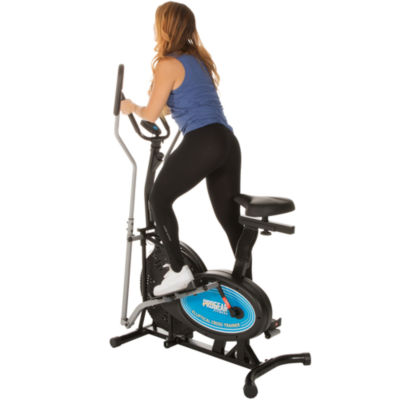 ProGear 400LS 2 in 1 Air Elliptical and Exercise Bike with Heart Pulse Sensors