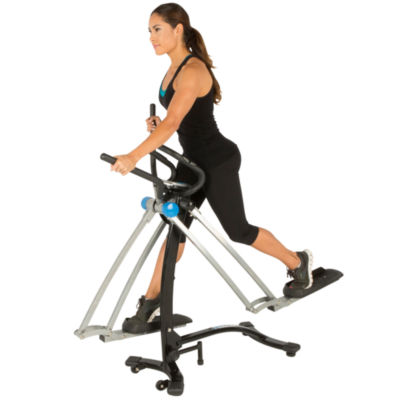 "PROGEAR Dual Action 360 Multi Direction 36"" Stride Air Walker Elliptical LS with Heart Pulse Sensors"