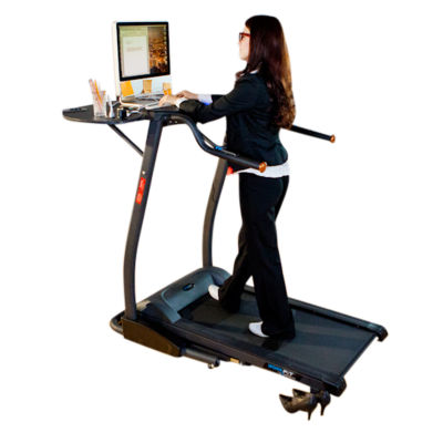 """Exerpeutic 2000 """"WorkFit"""" High Capacity Desk Station Treadmill"""
