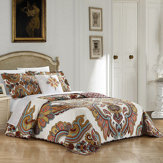Chic Home Ember Quilt Set