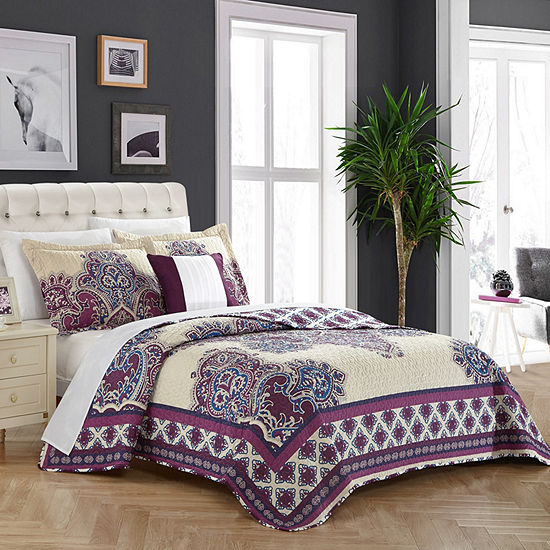 Chic Home Marion Quilt Set