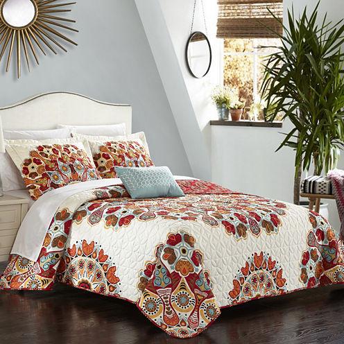 Chic Home Rouen Quilt Cover Set