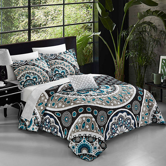 Chic Home Lucena Quilt Cover Set
