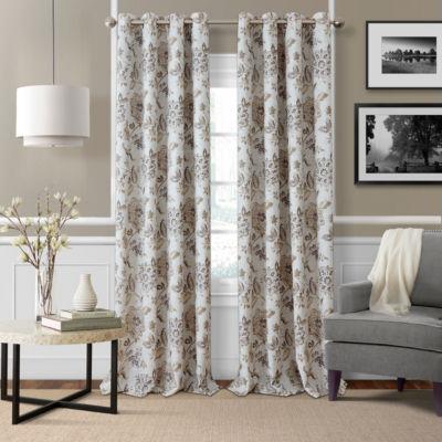 Elrene Sorrento Blackout Curtains Blackout Grommet Top Curtain Panel Jcpenney