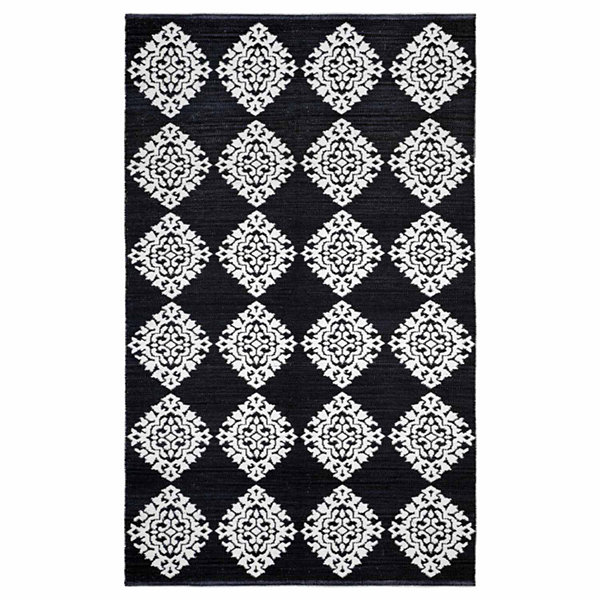 St. Croix Trading Medallion Cotton Jacquard Rectangular Rugs