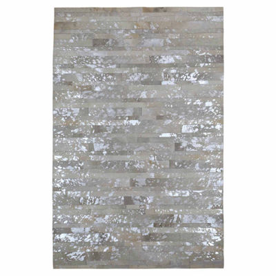 St. Croix Trading Rectangular Leather Hair-On HideMatador Rectangular Rugs