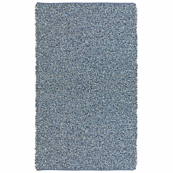St. Croix Trading Pelle Leather & Denim Rectangular Rugs