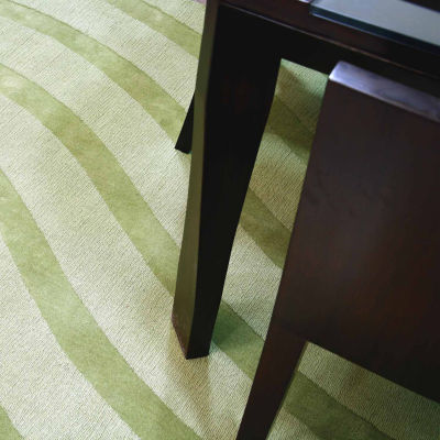 ST. CROIX TRADING Transitions Cut & Loop Waves Rug