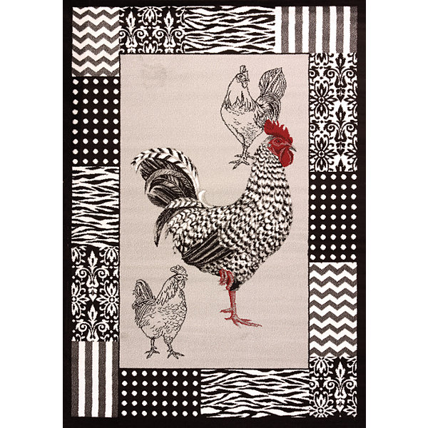 United Weavers Cristall Collection Rooster Rectangular Rug