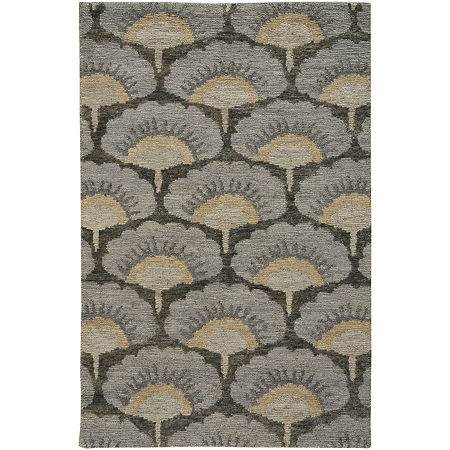 Capel Inc. Williamsburg Ina Hand Knotted Rectangular Indoor Rugs, One Size , Gray Product Image