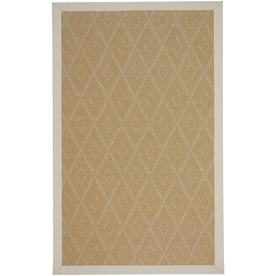 Capel Inc. Llano Tumbleweed Cream Rectangular Indoor/Outdoor Rugs