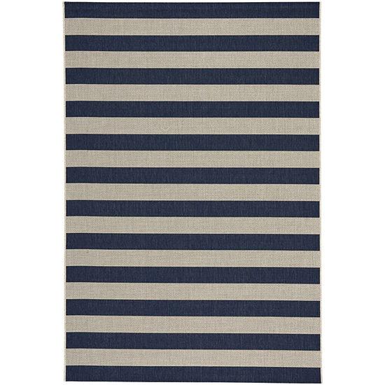 Capel Inc. Elsinore Stripe Rectangular Indoor/Outdoor Rugs
