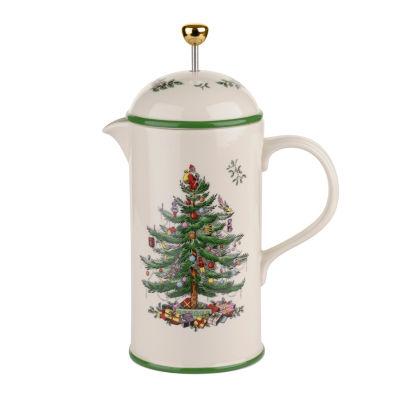Spode Christmas Tree Beverage Dispenser
