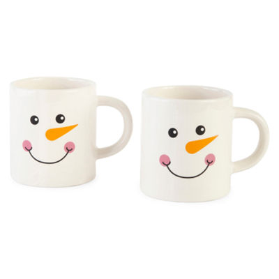North Pole Trading Co. Snowman 2-pc. Coffee Mug