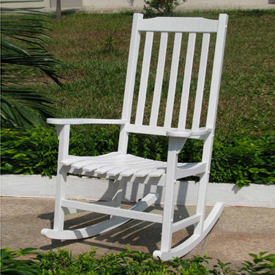 Northbeam Traditional Painted Wood Rocking Chair