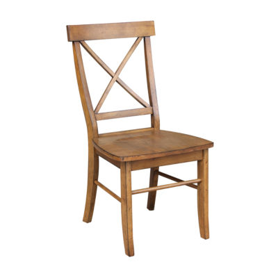 X-Back Chair with Solid Wood Seat