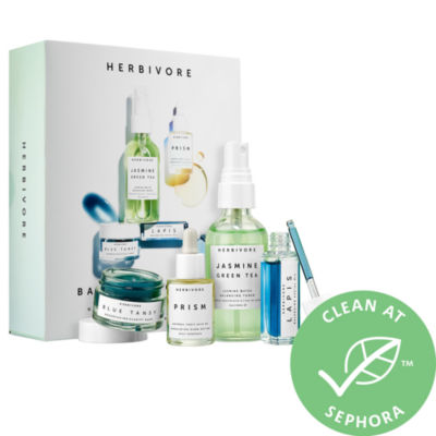 Herbivore Balance + Clarify Natural Skincare Mini Collection
