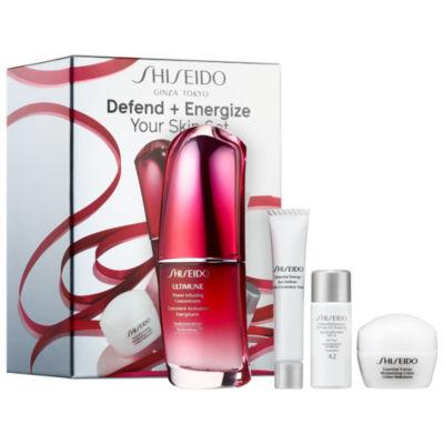 Shiseido Defend + Energize Your Skin Set