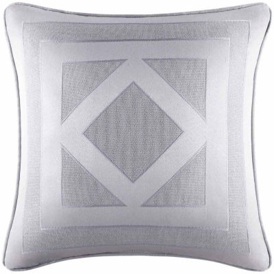 Five Queens Court Kennedy Square 20x20 Throw Pillow