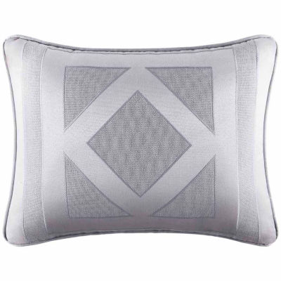 Five Queens Court Kennedy Rectangular Throw Pillow