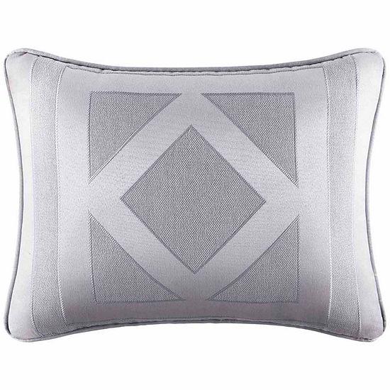 Five Queens Court Kennedy Rectangular Throw Pillow