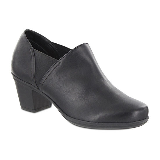 Mia Amore Kendraa Womens Slip-On Wide Bootie