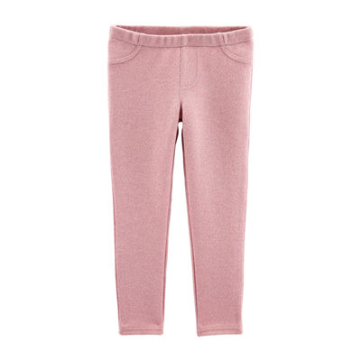 Carter's Girls Straight Pull-On Pants - Baby