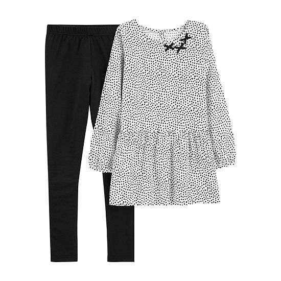 Carter's Long Sleeve Top & Pant 2pc. Set - Preschool Gils 2-pc. Pant Set Preschool / Big Kid Girls