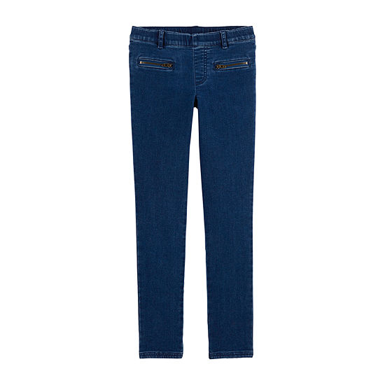 Carter's Girls Carter'S Skinny Stretch Pants - Preschool Girls Skinny Pull-On Pants - Preschool / Big Kid