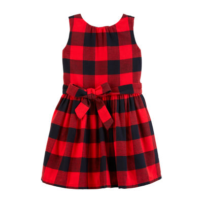 Carter's Fitted Sleeveless A-Line Dress - Toddler Girls