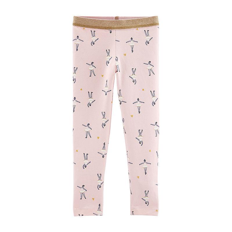 Carters CarterS Glitter Leggings – Baby Girl Jersey Leggings – Toddler Girls