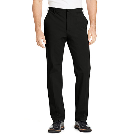 IZOD Advantage Performance 4-Way Sportflex Comfort Chino Mens Straight Fit Flat Front Pant