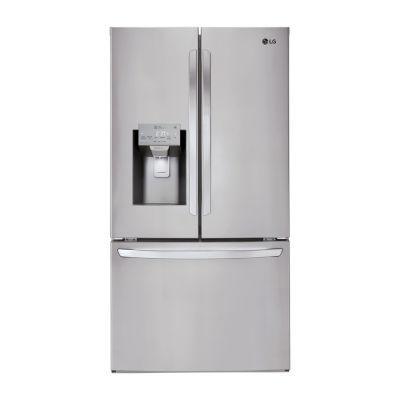 LG ENERGY STAR® 22 cu.ft. Smart Wi-Fi Enabled Counter Depth 3-Door French Door Refrigerator