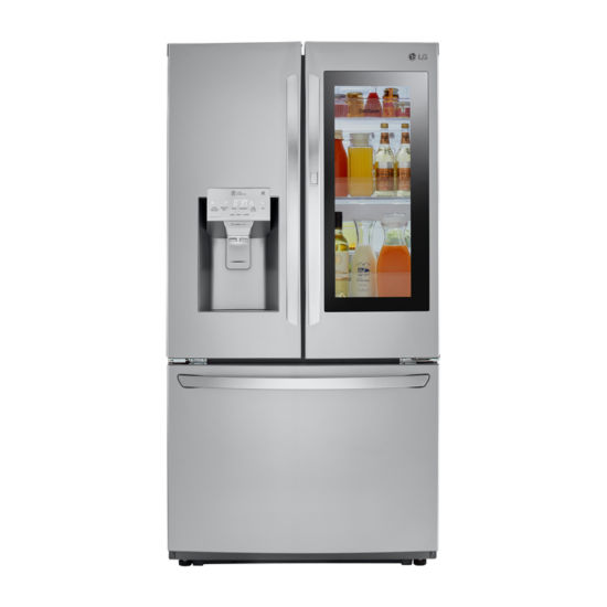 LG ENERGY STAR® 22 cu. ft. Smart Wi-Fi Enabled 3-Door Counter Depth Refrigerator with InstaView™ Door-in-Door®