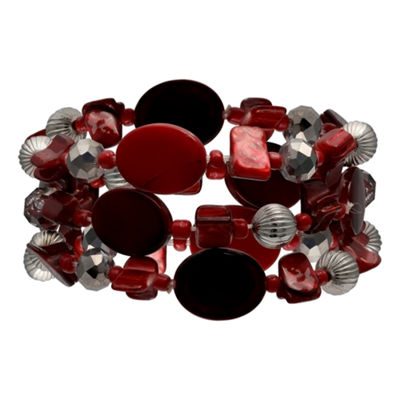 Mixit Red Stretch Bracelet