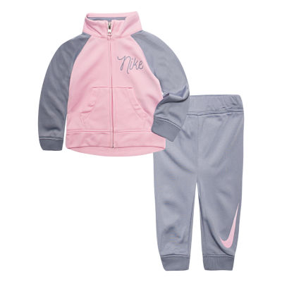 Nike 2-pc. Logo Pant Set Baby Girls