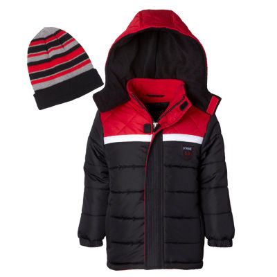 iXtreme - Boys Hooded Heavyweight Puffer Jacket-Big Kid