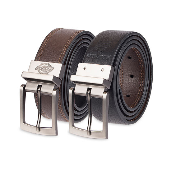 Dickies® Stretch Reversible Casual Men's Belt with Double Stitching