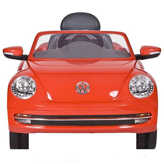 Vw Car 6 Volt Battery Ride-On