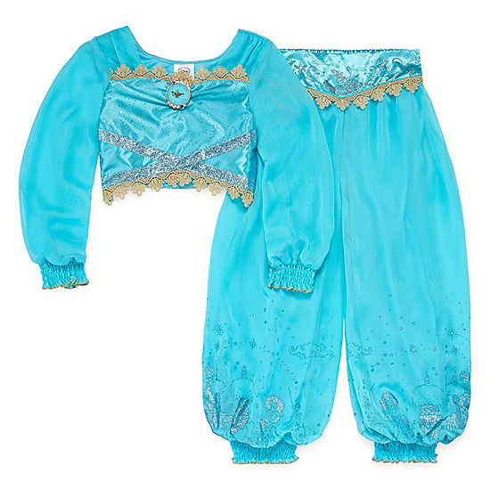 dc1ba771df54cb Disney Collection 2 pc Jasmine Costume Girls JCPenney