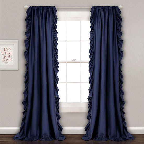Lush Decor Reyna Single Curtain Panel
