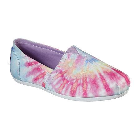 Vintage Shoes in Pictures | Shop Vintage Style Shoes Skechers Bobs Womens Plush Grateful Day Closed Toe Slip-On Shoe 6 12 Medium Pink $33.75 AT vintagedancer.com