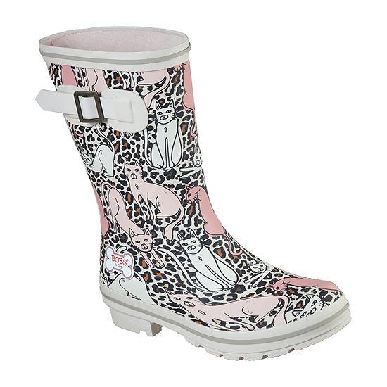 Skechers Bobs Womens Rain Check Rain Cats Slip-On Shoe Closed Toe