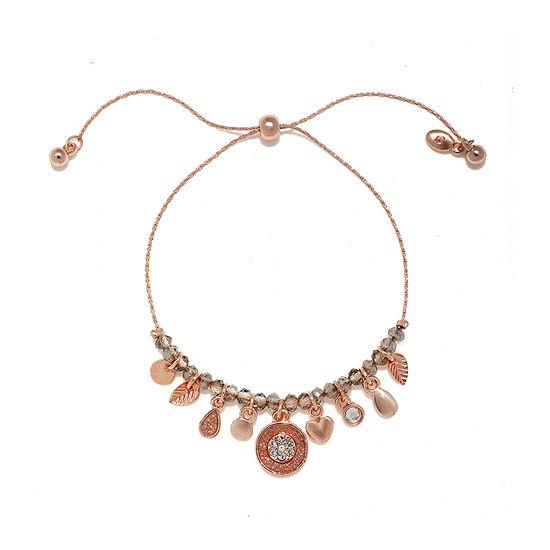 Mixit Link Round Charm Bracelet