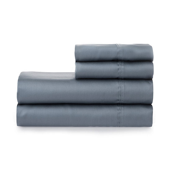 Welhome Smooth Cotton Tencel 300tc Sateen Sheet Set