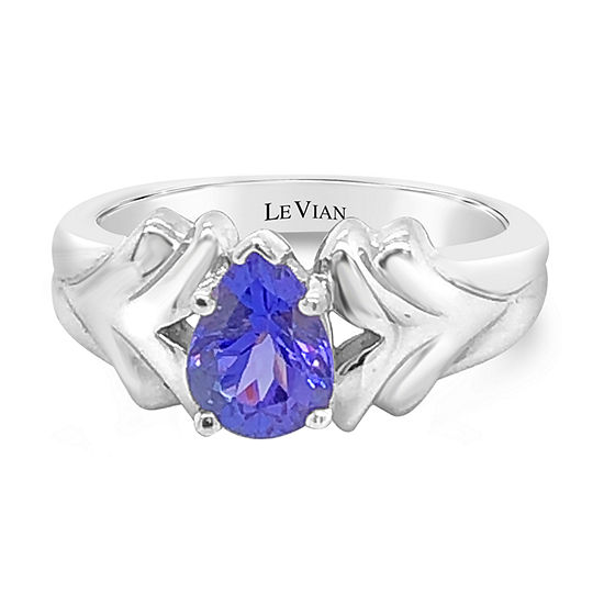 Le Vian Grand Sample Sale™ Ring featuring Blueberry Tanzanite® set in 14K Vanilla Gold®